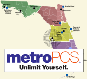 MetroPCS Rolls Out G LTE In Tampa Florida Completing Their - Metro pcs us coverage map