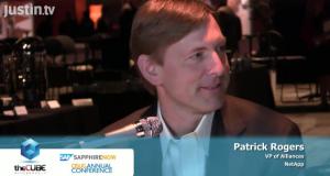 Patrick Rogers of NetApp at SAP Sapphire 2011