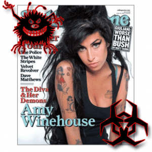 Grammy Award winner Amy Winehouse's death opportunism by Facebook malware scammers
