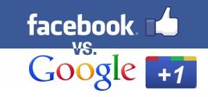 google plus v facebook