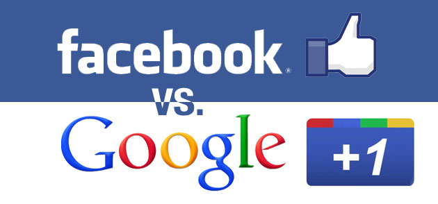 google plus v facebook