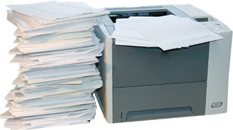 Paper Waste Too Often Overlooked in the Age of the Cloud