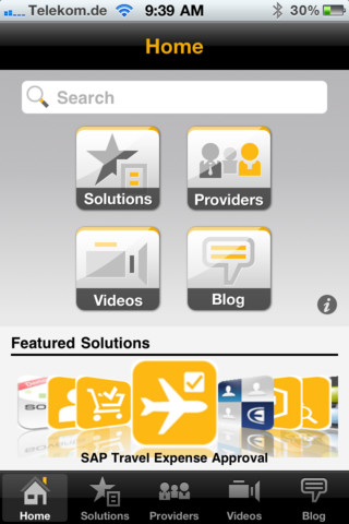 SAP Opens a Mobile App Store – the CIO Friendly Variety