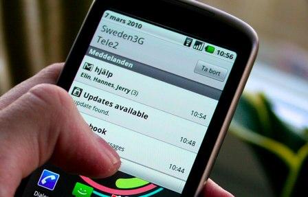 Android notifikační centrum