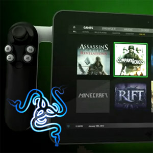Grab On to the Razer Fiona at CES 2012: New Hyper-Powered Gaming Tablet PC