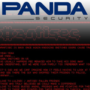 Anonymous/AntiSec Defaces Panda Security Website in Revenge