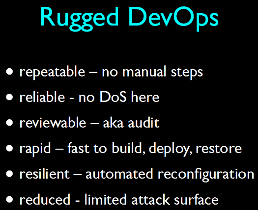 Rugged DevOps