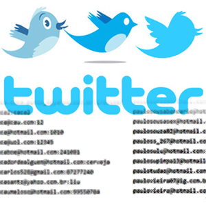 55,000 Twitter Accounts and Passwords Leaked Partially Spambots, Duplicates, Old LulzSec Leak