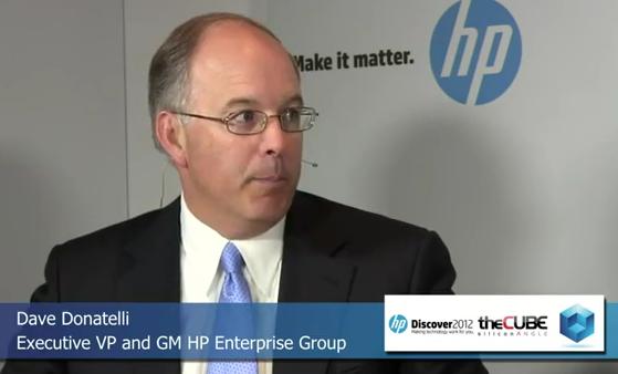 Dave Donatelli HP Discover TheCube 2012