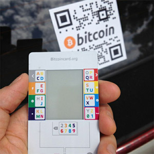Bitinstant Reviews The Bitcoin Card It S Real Small