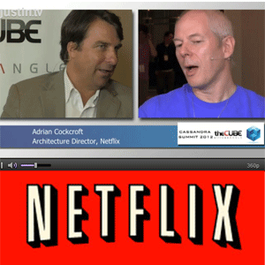 Adrian Cockcroft Architecture Director at Netflix in #theCube Talking Chaos Monkey and Cassandra