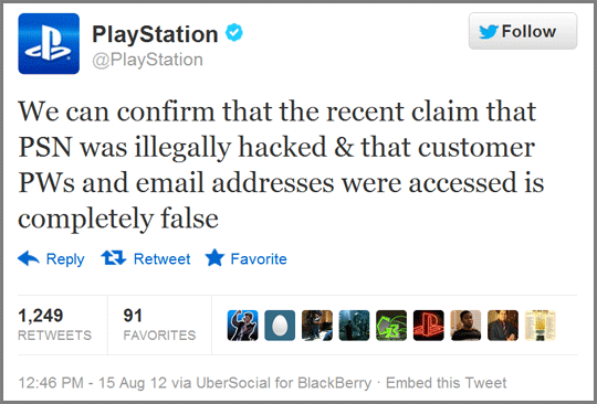 The Week Anonymous Didn't Hack Sony's PlayStation Network
