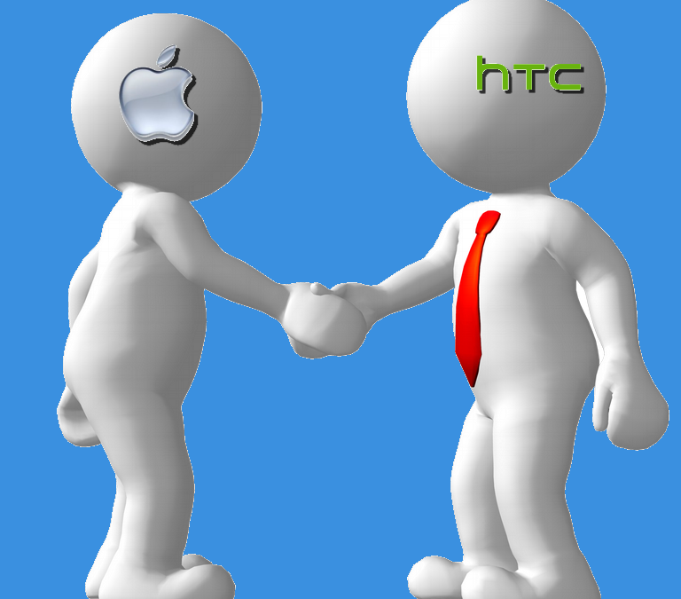 Apple and HTC Decide to Play Nice, Drop Patent Issues