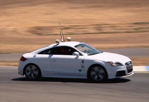 "Human ""Only Just"" Edges Out Robot Car On The Racetrack"