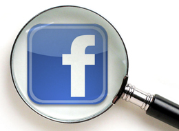 facebook-magnifying glass