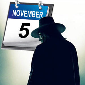 Remember, Remember, the 5th of November—Anonymous Raises the Flag