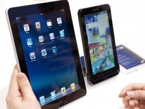 Android Tablets Gaining On The iPad