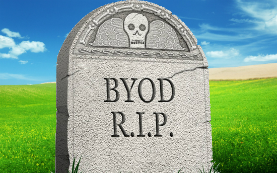 The Death of BYOD – Courtesy of Apple and Google