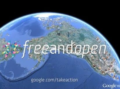 Google's #FreeandOpen Web Campaign: What's The Point?