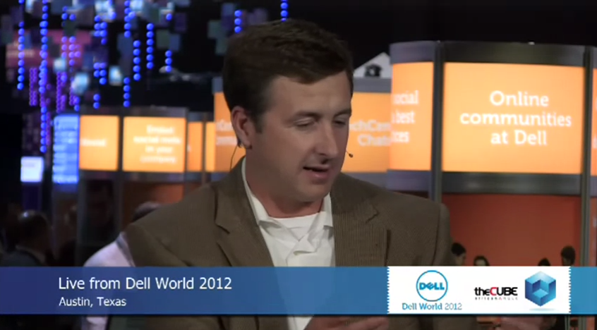Brian Payne at Dell World
