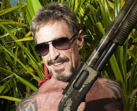 Madcap McAfee Escapes To Guatemala, Plans To Claim Asylum