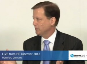 Bill Philbin HP Virtual Storage VP on theCube