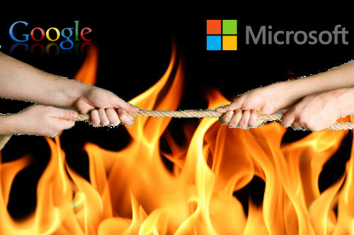 Google Gets Evil on Microsoft