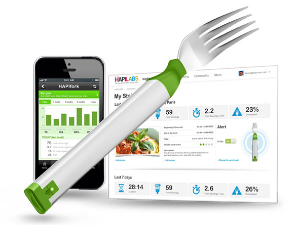 CES 2013 Innovations: Smart Forks, Android-Powered Ovens and Throwaway Tech