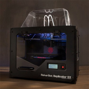 MakerBot Replicator 2X Announced at CES 2013: Now With Twice the 3D Printing