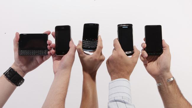 smartphones-held