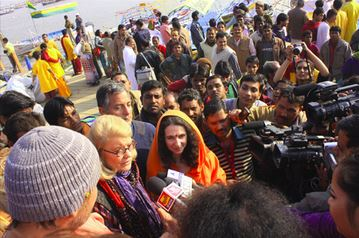 Healthy Big Data: Mapping The Kumbh Mela