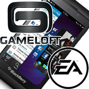 Gameloft and EA Throw in with B10 but is it Enough for BlackBerry Gaming?