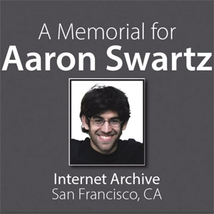 Aaron Swartz's Memorial: A Call to Continue the Fight