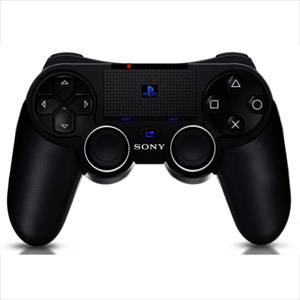 PS4 Controller Features Touchscreen and Move Strip
