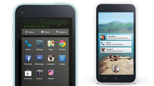 Facebook Finds A Home On The HTC First - SiliconANGLE