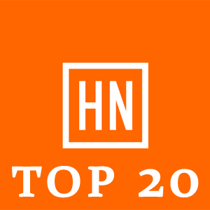Top 20 Programming Languages of Hacker News Readers January 2013