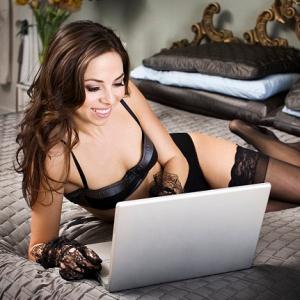 Виртуальный секс для современной женщины.