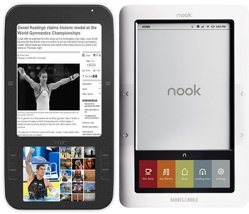 Barnes & Noble Sells Its Soul, Brings Google Play To The Nook