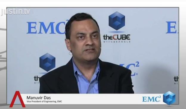 """Object was designed for a world of limitless scale,"" says Manuvir Das, EMC VP of Engineering"