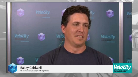 RightScale's Bailey Caldwell Talks Multi-Cloud and the Big Players in the Cloud Space | #velocityconf