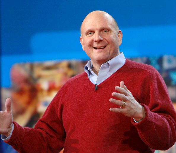 "Steve Ballmer Planning ""Significant Restructing"" of Microsoft Leadership"