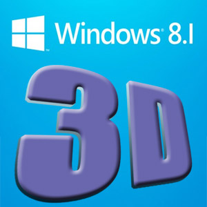 Windows 8.1 3d software