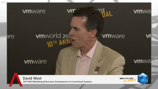 CommVault Turns Backup Data into Business Assets + Value | #VMworld