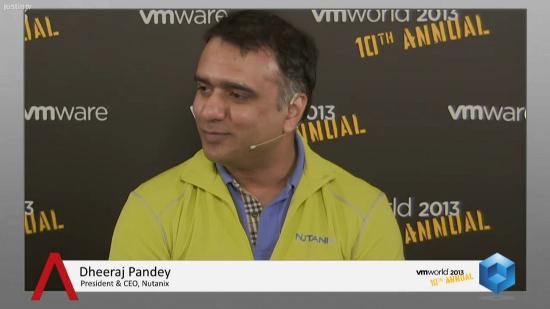 Storage Needs to Be Pure Software, Says Nutanix's Dheeraj Pandey   #VMworld