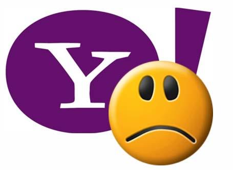 yahoo sad face