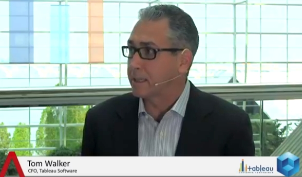 Tableau Not Looking for Acquisitions: CFO Speaks On IPO, Global Growth Strategy | #tcc13