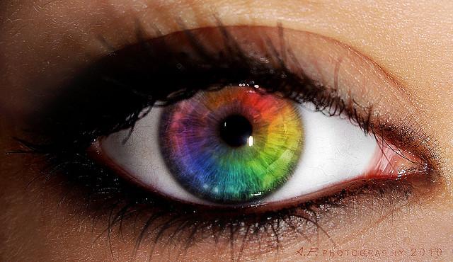 a bionic eye implant  Eyes