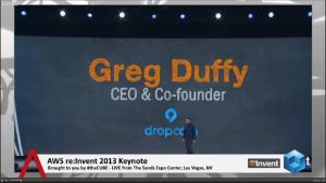 AWS keynote : Powering up Dropcam cloud, metadata + more | #reinvent