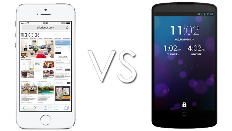 Nexus 5 vs iPhone 5s: Head-to-head