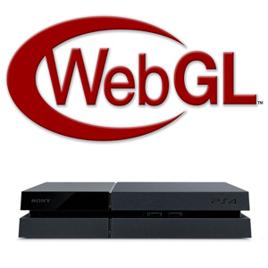 WebGL graphics technology powers Sony PlayStation 4 UI